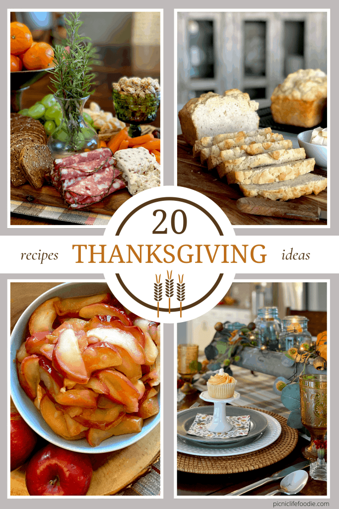 20 Recipes and Ideas for Thanksgiving 2020
