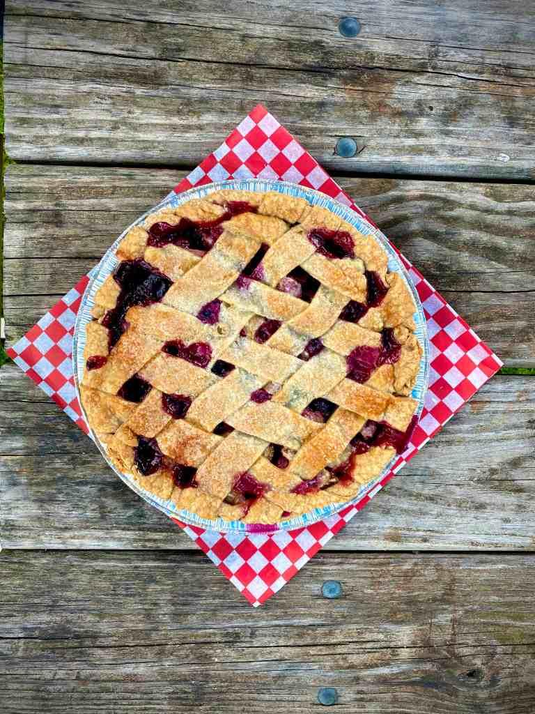 Bluebarb Pie from Aroma Pie Shoppe