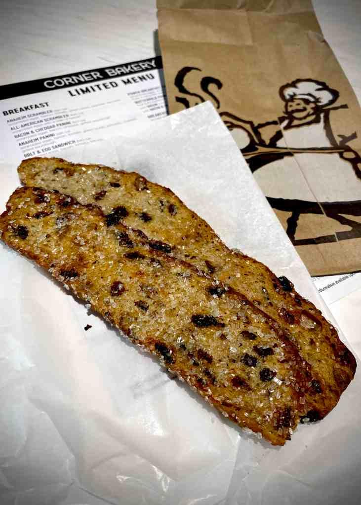 Sweet Crisps from Corner Bakery