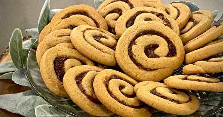 Date Pinwheel Cookies