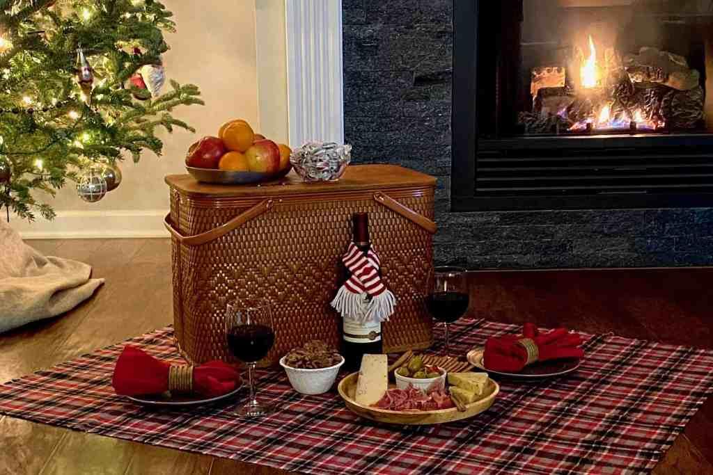 Fireplace Picnic