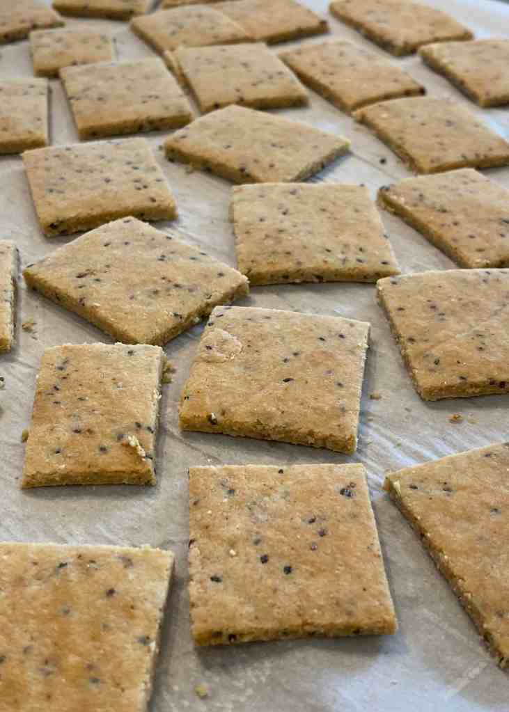 Gluten Free Homemade Crackers