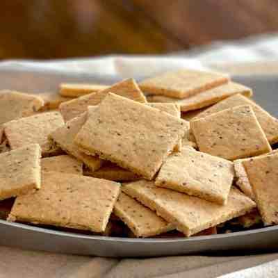 Healthy Homemade Crackers