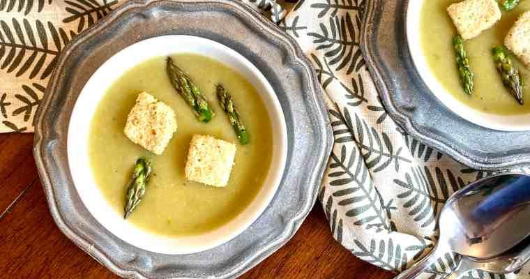 Asparagus and Potato Soup