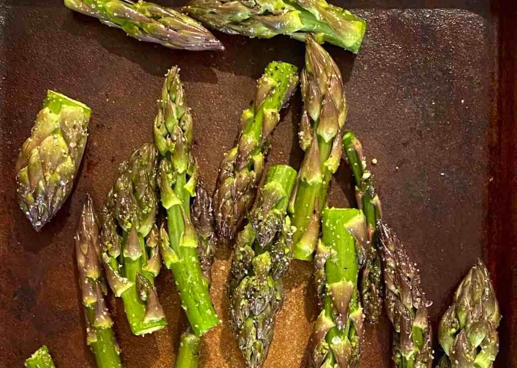 Roasted Asparagus Tips