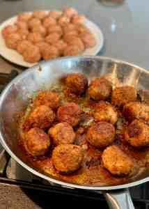 Saucing the Meatballs
